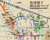 魚津城下商店街マップ