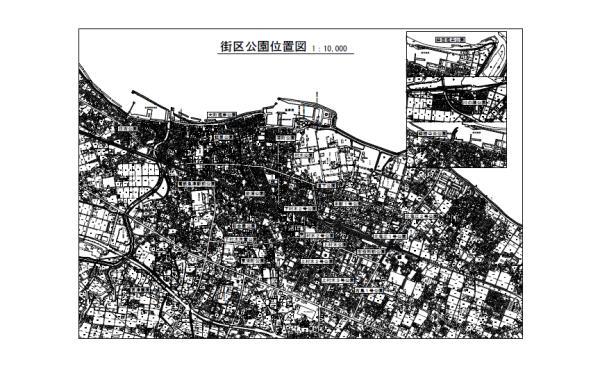 街区公園位置図
