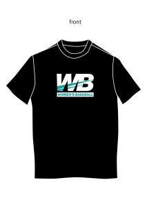 女子野球Tシャツ2