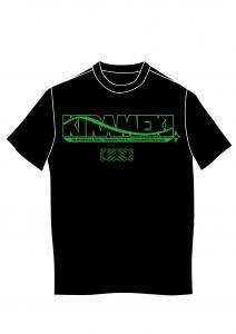 女子野球Tシャツ緑