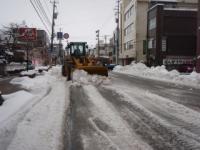 道路除雪中