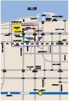 商店街までのアクセスマップ