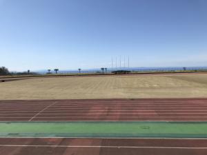 桃山陸上競技場フィールド